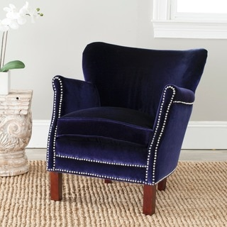 Safavieh Posh Royal Blue Arm Chair