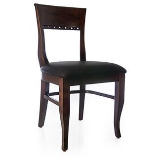 Biedermier Walnut Side Chairs (Set of Two)