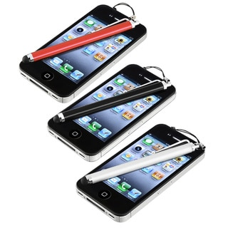Multi-colored Stylus Set for Apple iPad 2 Tablet