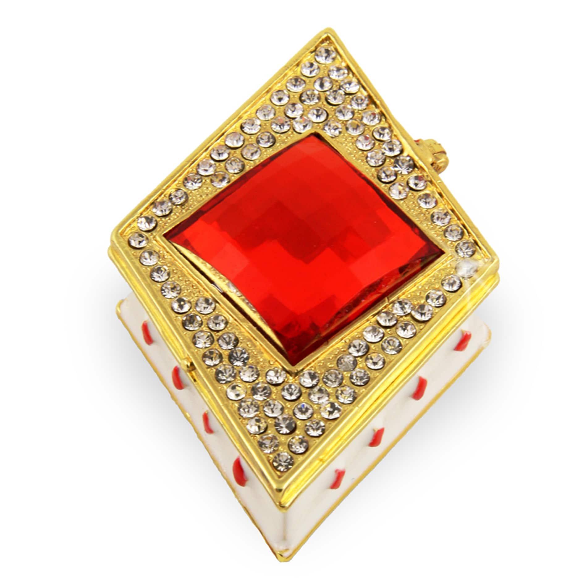 Objet d'art 'Ace of Diamonds' Trinket Box