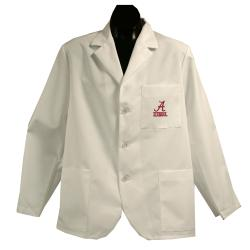 Gelscrubs Machine-Washable Unisex Alabama Crimson Tide Short Labcoat