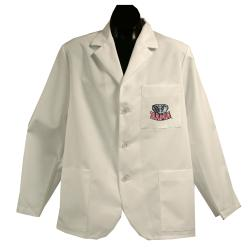 Gelscrubs Unisex NCAA Alabama Crimson Tide Short Labcoat