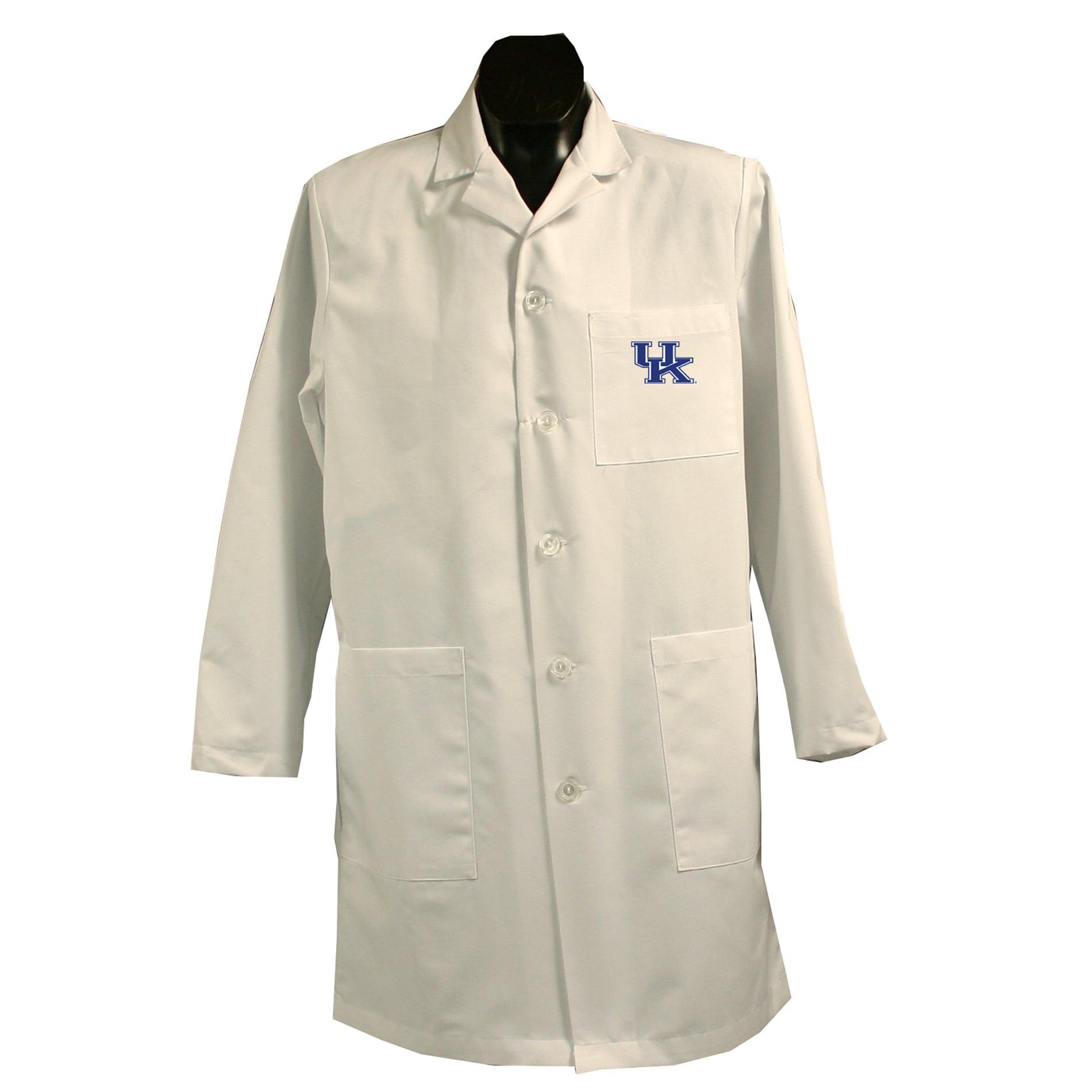 Gelscrubs Unisex NCAA Kentucky Wildcats Long Labcoat