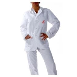 Gelscrubs Unisex Alabama Crimson Tide V-Neck Long Labcoat