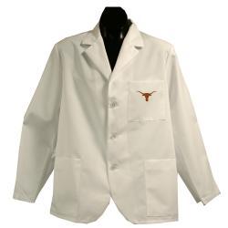 Gelscrubs Unisex NCAA Texas Longhorns Short Labcoat