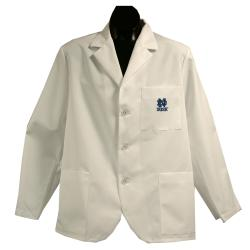 Gelscrubs Unisex NCAA Notre Dame Fighting Irish Short Labcoat