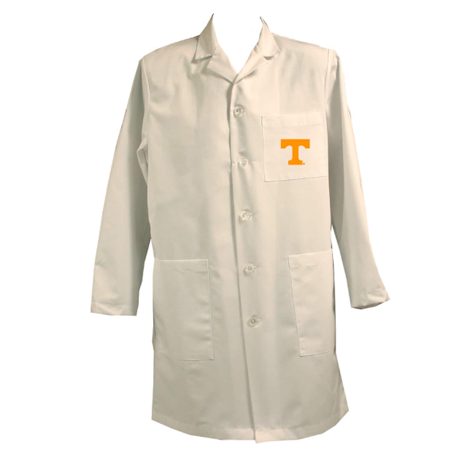 Gelscrubs Unisex NCAA Tennessee Volunteers Long Labcoat