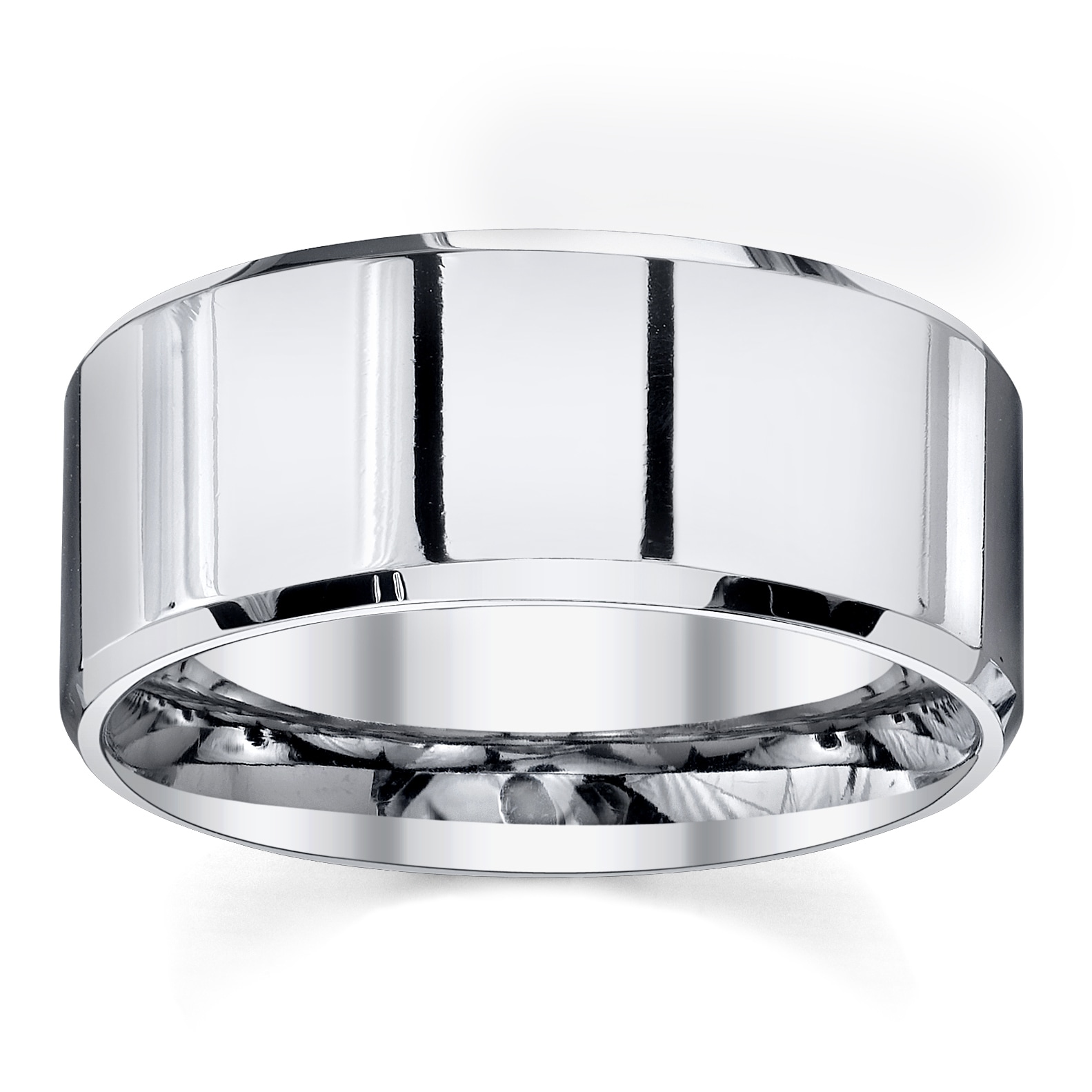 Men's Classic 10 mm Cobalt Band by Spartan Jewelry