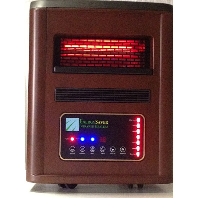 Energy Saver Infrared Heater with Dehumidifier and Purifier
