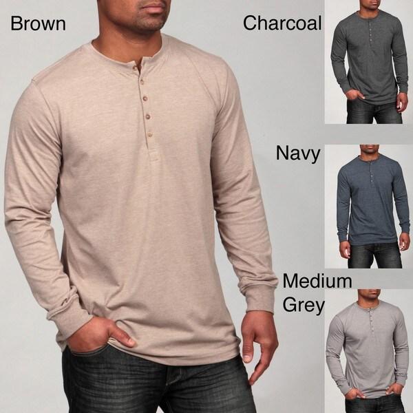 Grey Matter Concepts Men's Henley Shirt