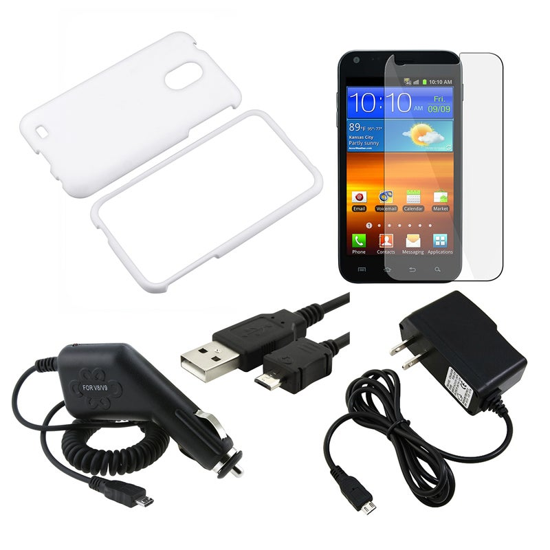 Case/ LCD Protector/ Chargers/ Cable for Samsung Galaxy Epic S2 Touch