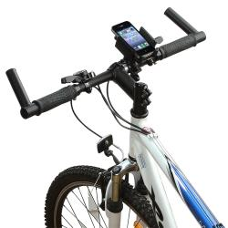 Black Universal Bicycle Phone Holder