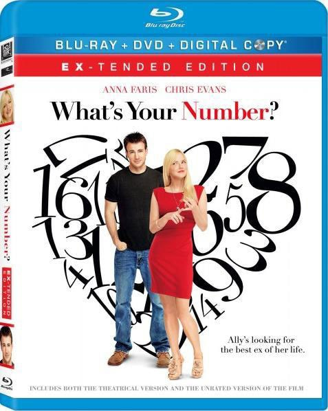 What's Your Number? (Blu-ray/DVD)