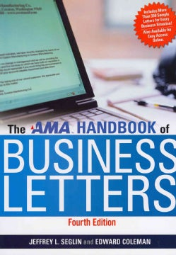 The AMA Handbook of Business Letters (Hardcover)