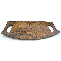 Mango Wood Handled Serving Tray (Thailand)
