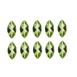 Glitzy Rocks Marquise 4x2mm 1ct TGW Peridot Stones (Set of 10)