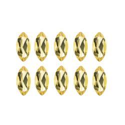 Glitzy Rocks Marquise 4x2mm 1ct TGW Citrine Stones (Set of 10)
