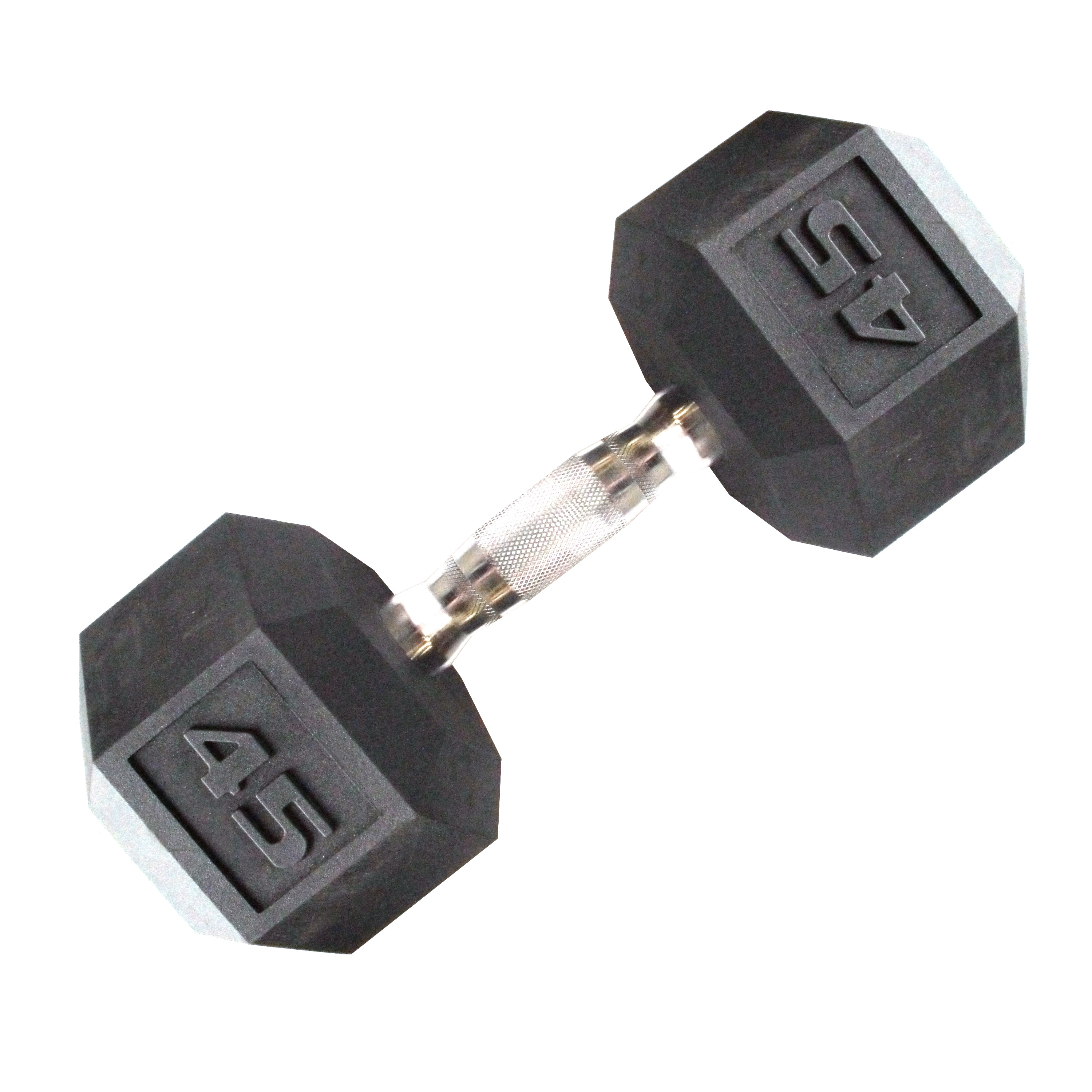 CAP Barbell 45 lb Coated Hex Dumbbell