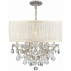 Crystorama Brentwood Polished Chrome 5-Light Chandelier