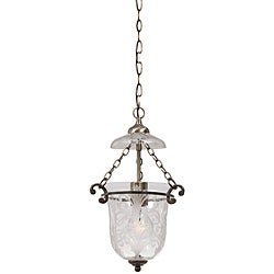 Crystorama Camden Antique Brass 1-light Pendant