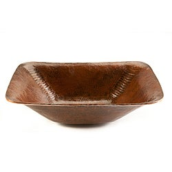 Rectangle Hand-forged Old World Copper Vessel Sink