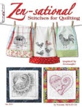 Zen-Sational Stitches for Quilting (Paperback)