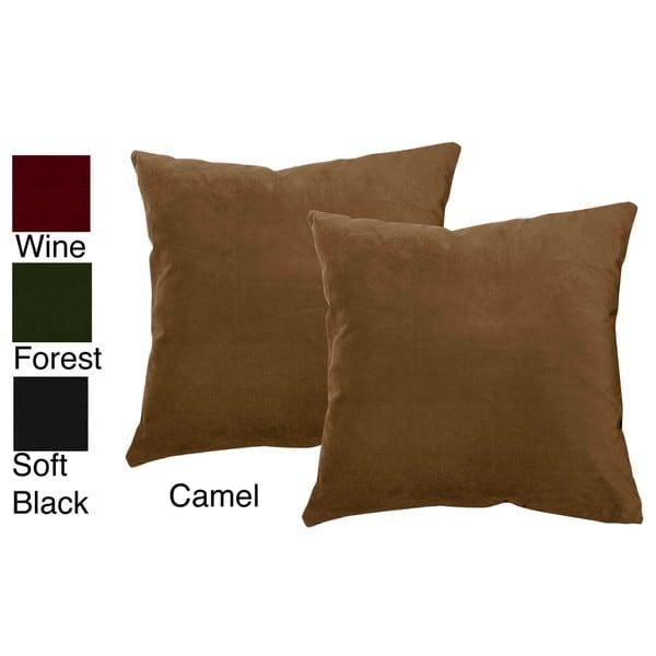 Jenny George Designs Cotton Velvet Decorative Pillows (Set of 2)