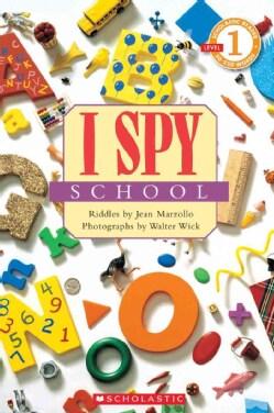 I Spy School (Paperback)