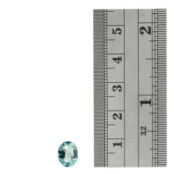 Glitzy Rocks 9x7 Oval-cut Blue Topaz Stones (4 2/5ct TGW) (Set of 2)