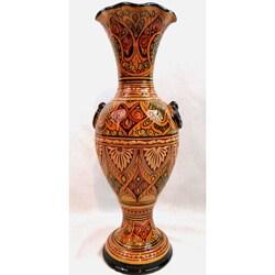 La Palmeraie Moderne Marigold Ceramic Vase (Morocco)