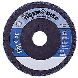 Weiler 4.5 Big Cat Abrasiveflap Disc Phenolic Back