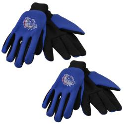 Forever Collectibles Georgia Bulldogs Two-tone Work Gloves (Set of 2 Pair)