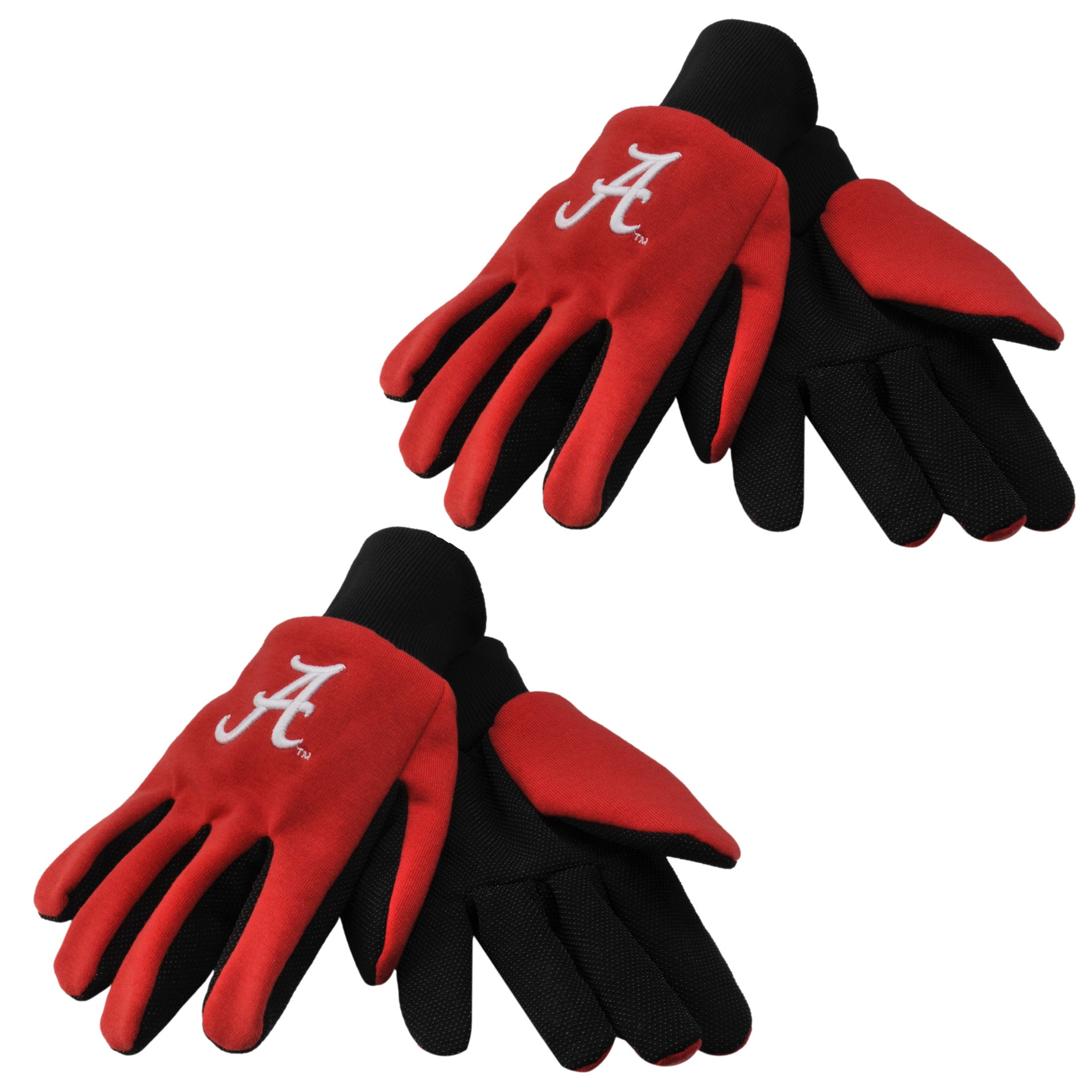 Alabama Crimson Tide Two-tone Gloves (Set of 2 Pair)