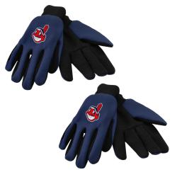 Cleveland Indians Two-tone Gloves (Set of 2 Pair)