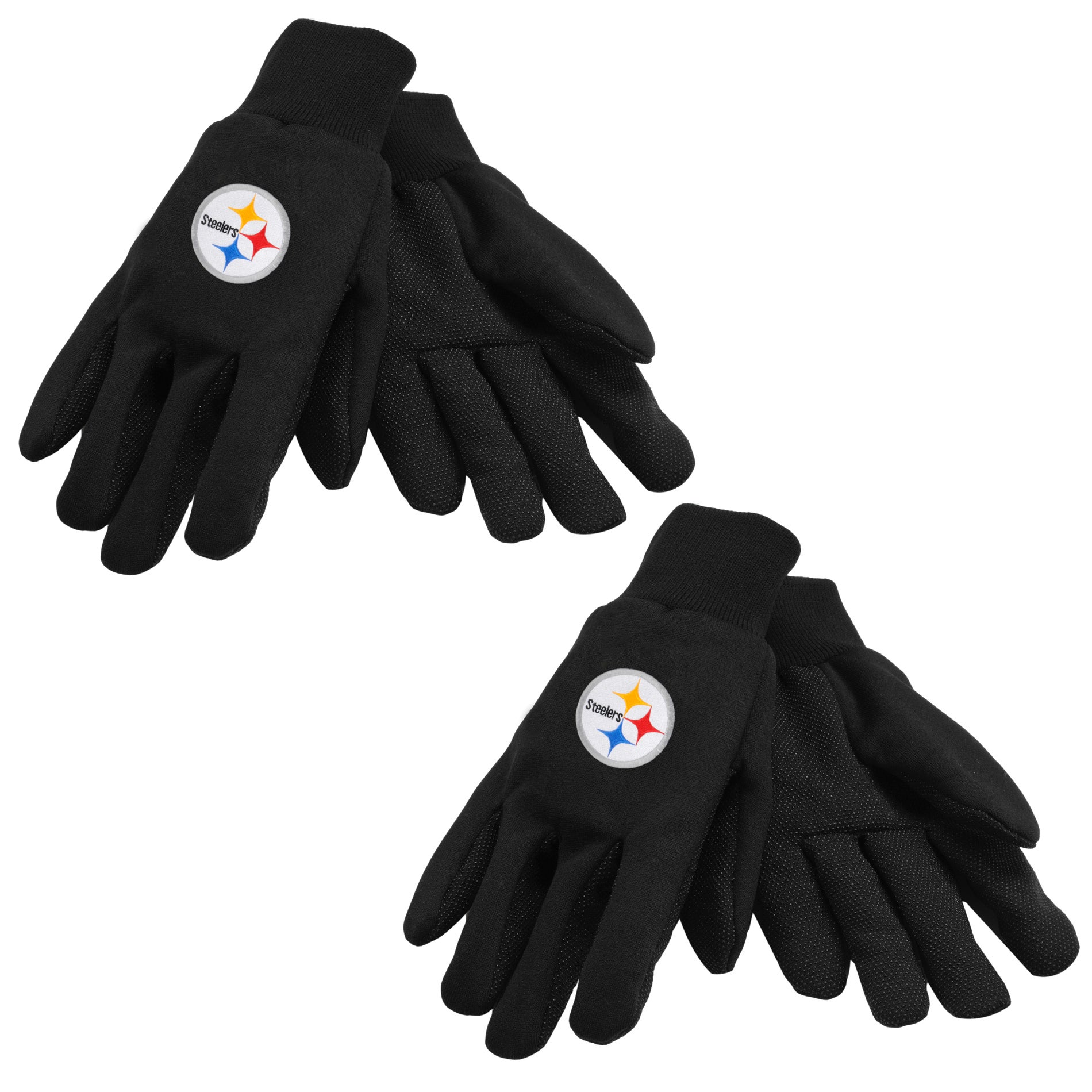 Pittsburgh Steelers Two-tone Gloves (Set of 2 Pair)
