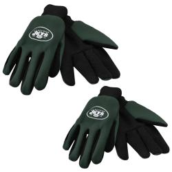 New York Jets Two-tone Work Gloves (Set of 2 Pair)