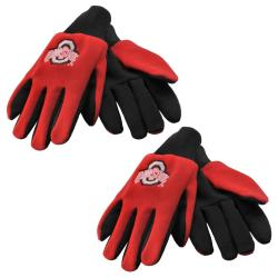 Ohio State Buckeyes Two-tone Gloves (Set of 2 Pair)