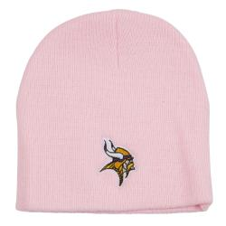 Minnesota Vikings Pink Beanie Stocking Hat