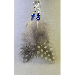 'Kiawa' Feather Earrings