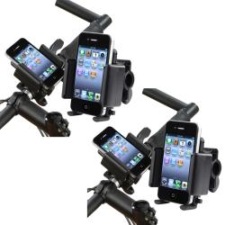 Black Universal Bicycle Phone Holder (Pack of 2)