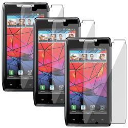 Screen Protector for Motorola Droid RAZR XT910 (Pack of 3)