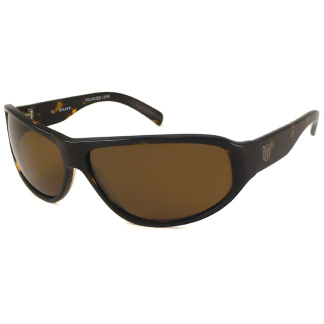 Gant GS Silver Men's Wrap Sunglasses