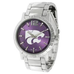 Geneva Platinum Men's Kansas State Wildcats Link Watch
