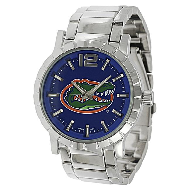 Geneva Platinum Men's Florida Gators Link Watch