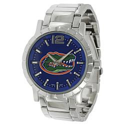 Geneva Platinum Men's Florida Gators Link Watch