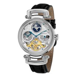 Stuhrling Original Men's Magistrate Skeleton Automatic Watch