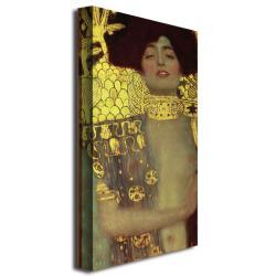 Gustav Klimt 'Judith' 1901' Canvas Art