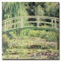 Claude Monet 'White Nenuphars' 1899' Canvas Art