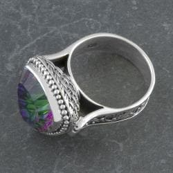 Sterling Silver Exotic Topaz 'Cawi' Ring (Indonesia)