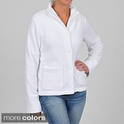 La Cera Women's Plus Size Five-button Jacket